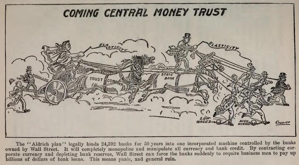 The Money Trust Picks Up Speed